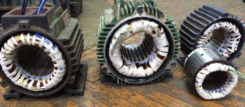 ремонт электродвигателя насоса