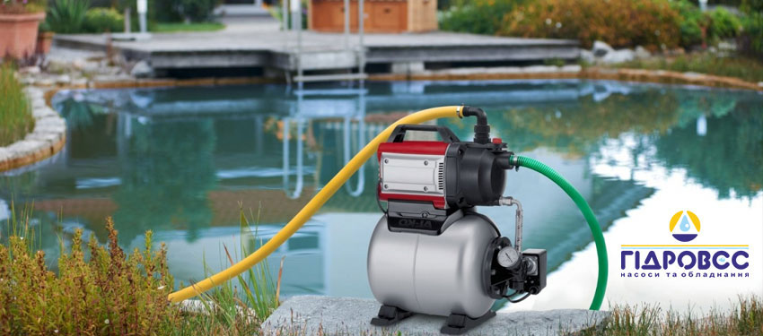 Як вибрати водяний насос?